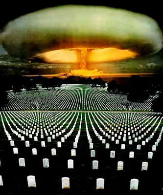 Bomba atomica y cementerio