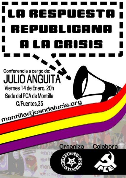 Cartel Julio Anguita
