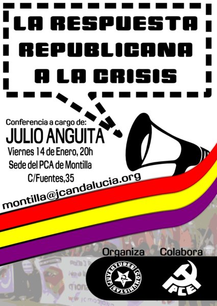 Cartel Julio Anguita