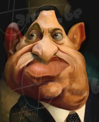 Egipto: Mubarak en el mundo a trav�s de su gente.