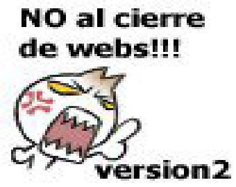 NO AL CIERRE DE WEBS