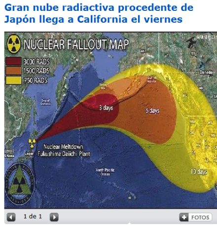 nube radioactiva